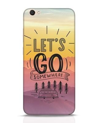 Shop Lets Go Somewhere Vivo V5 Mobile Cover-Front
