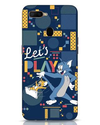 Shop Lets Play Oppo A5s Mobile Cover (TJL)-Front