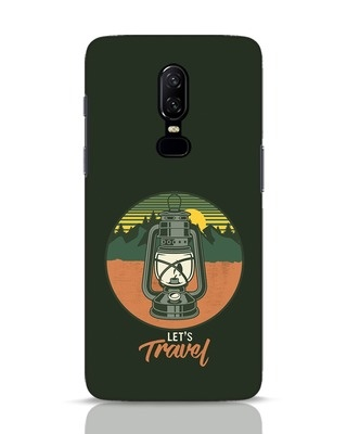 Shop Lets Travel Lantern OnePlus 6 Mobile Cover-Front