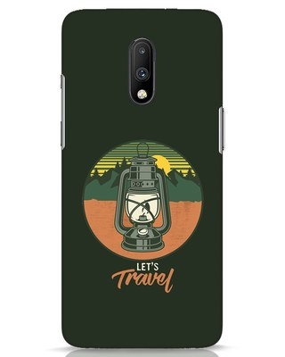 Shop Lets Travel Lantern OnePlus 7 Mobile Cover-Front