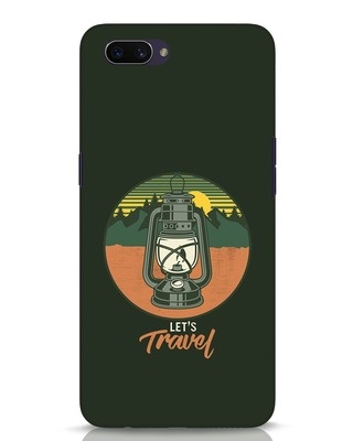 Shop Lets Travel Lantern Oppo A3S Mobile Cover-Front