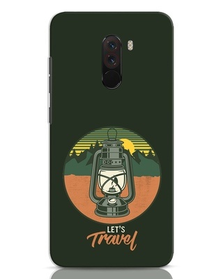 Shop Lets Travel Lantern Xiaomi POCO F1 Mobile Cover-Front
