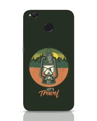 Shop Lets Travel Lantern Xiaomi Redmi 4 Mobile Cover-Front