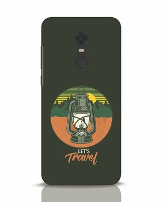 Shop Lets Travel Lantern Xiaomi Redmi Note 5 Mobile Cover-Front