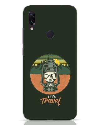 Shop Lets Travel Lantern Xiaomi Redmi Note 7 Mobile Cover-Front