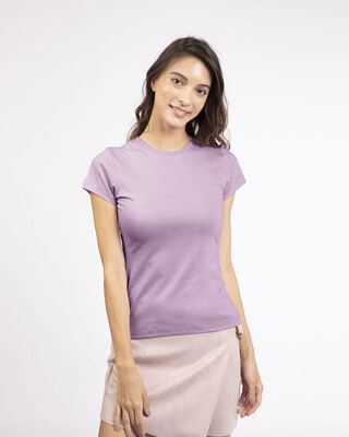 Shop Lilac Breeze Half Sleeve T-shirt-Front
