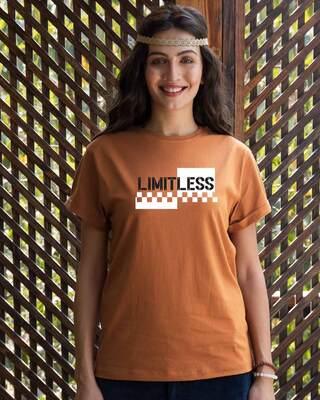 Shop Limitless 2.0 Boyfriend T-Shirt-Front