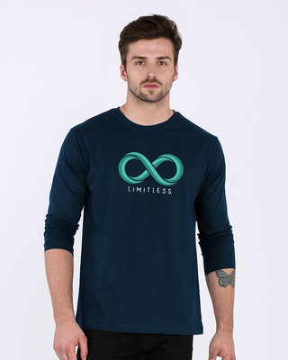 Shop Limitless Infinity Full Sleeve T-Shirt-Front