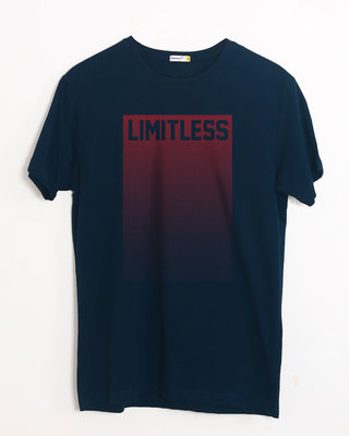 Buy Limitless Ombre Half Sleeve T-Shirt Online India @ Bewakoof.com