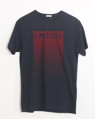 Buy Limitless Ombre Half Sleeve T-Shirt Online India @ Bewakoof.com