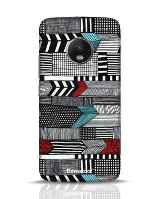 Shop Lines Moto G5 Plus Mobile Cover-Front