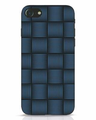 Shop Lines Pattern iPhone 7 Mobile Cover-Front