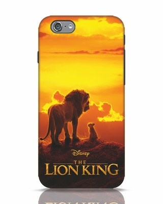 Shop Lion Poster iPhone 6 Mobile Cover-Front