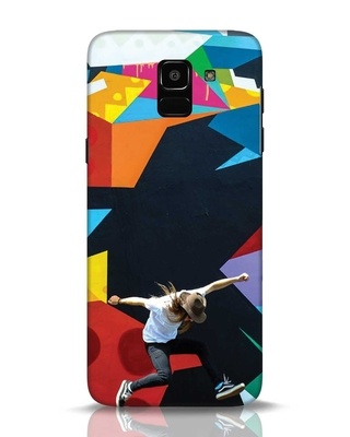 Shop Liongraffiti Samsung Galaxy J6 Mobile Cover-Front