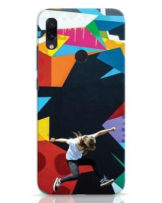 Shop Liongraffiti Xiaomi Redmi Note 7 Mobile Cover-Front