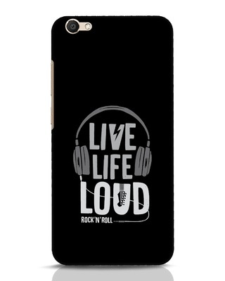 Shop Live Life Loud Vivo V5 Mobile Cover-Front