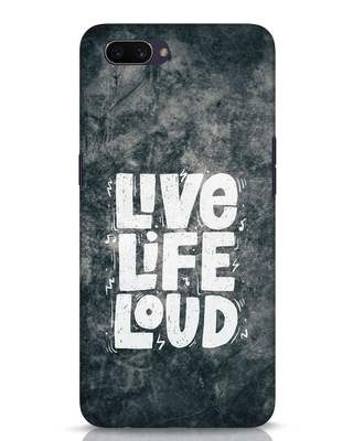 Shop Live Loud Music Oppo A3S Mobile Cover-Front