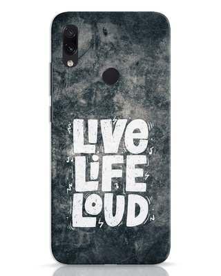 Shop Live Loud Music Xiaomi Redmi Note 7 Mobile Cover-Front