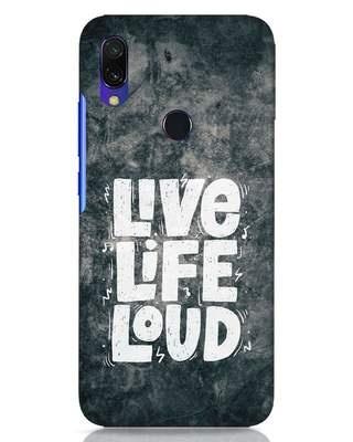 Shop Live Loud Music Xiaomi Redmi Y3 Mobile Cover-Front