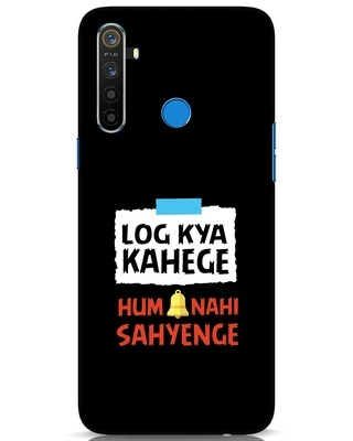 Shop Log Kya Kahenge Realme 5 Mobile Cover-Front