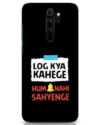 Shop Log Kya Kahenge Xiaomi Redmi Note 8 Pro Mobile Cover-Front
