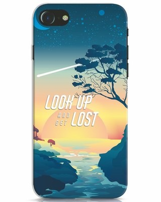 Shop Look Up And Lost iPhone 7 Mobile Cover-Front