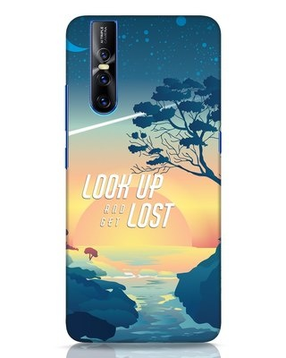 Shop Look Up And Lost Vivo V15 Pro Mobile Cover-Front