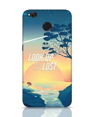 Shop Look Up And Lost Xiaomi Redmi 4 Mobile Cover-Front