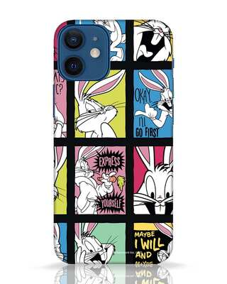 Shop Looney Pop iPhone 12 Mini Mobile Cover (LTL)-Front