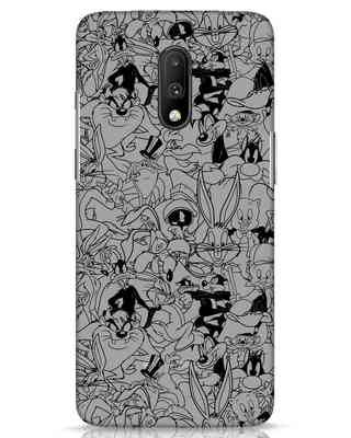 Shop Looney Toons Family OnePlus 7 Mobile Cover (LTL)-Front