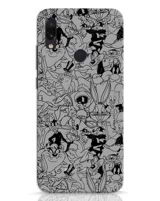 Shop Looney Toons Family Xiaomi Redmi Note 7 Mobile Cover (LTL)-Front