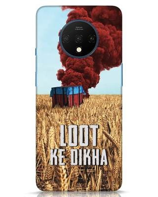 Shop Loot Ke Dikha OnePlus 7T Mobile Cover-Front