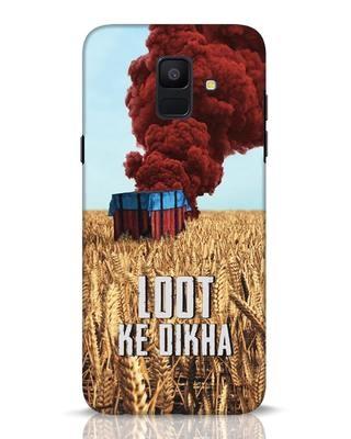 Shop Loot Ke Dlkha Samsung Galaxy A6 2018 Mobile Cover-Front