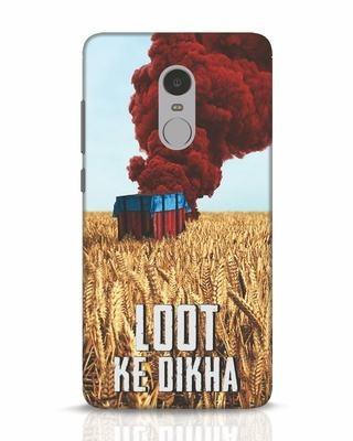 Shop Loot Ke Dlkha Xiaomi Redmi Note 4 Mobile Cover-Front