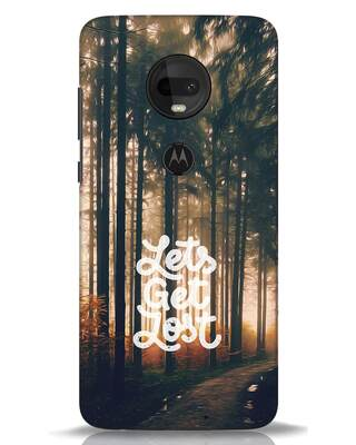 Shop Lost In Nature Moto G7 Mobile Cover-Front