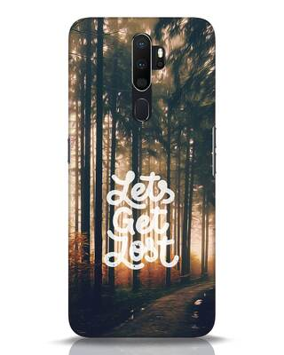 Shop Lost In Nature Oppo A5 2020 Mobile Cover-Front