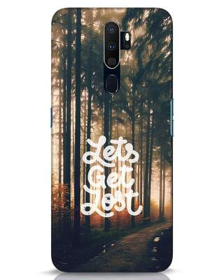 Shop Lost In Nature Oppo A9 2020 Mobile Cover-Front