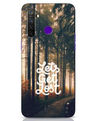 Shop Lost In Nature Realme 5 Pro Mobile Cover-Front