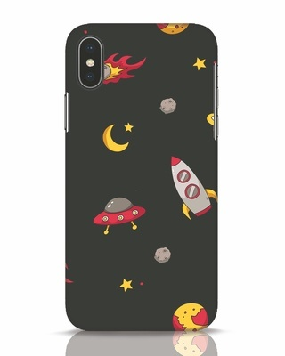 Shop Lost In The Sky iPhone X Mobile Cover-Front