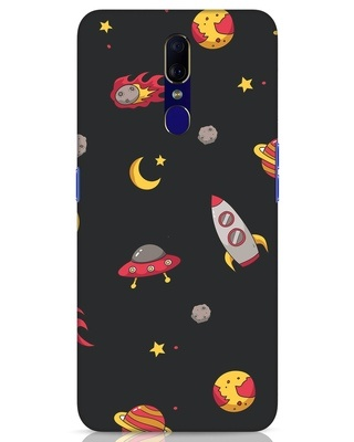 Shop Lost In The Sky Oppo F11 Mobile Cover-Front