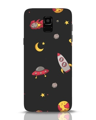 Shop Lost In The Sky Samsung Galaxy J6 Mobile Cover-Front
