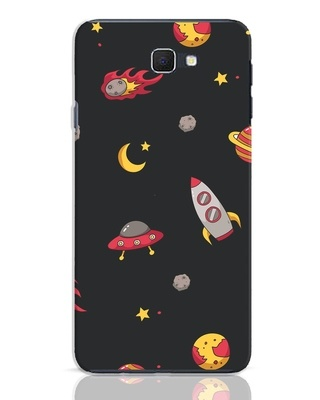 Shop Lost In The Sky Samsung Galaxy J7 Prime Mobile Cover-Front