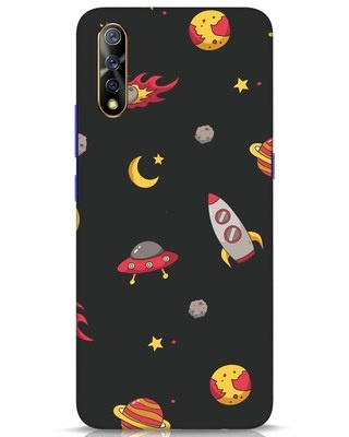 Shop Lost In The Sky Vivo S1 Mobile Cover-Front