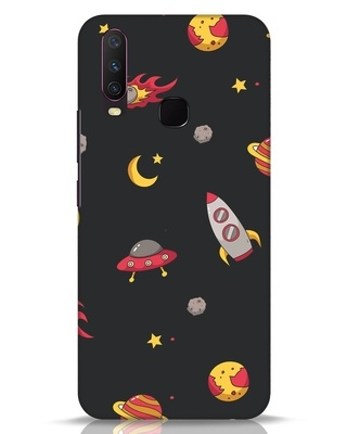 Shop Lost In The Sky Vivo Y17 Mobile Cover-Front