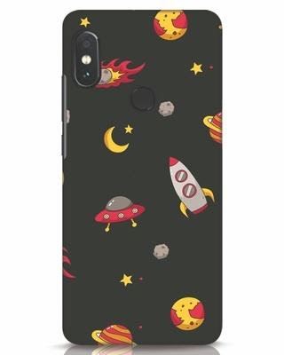 Shop Lost In The Sky Xiaomi Redmi Note 5 Pro Mobile Cover-Front