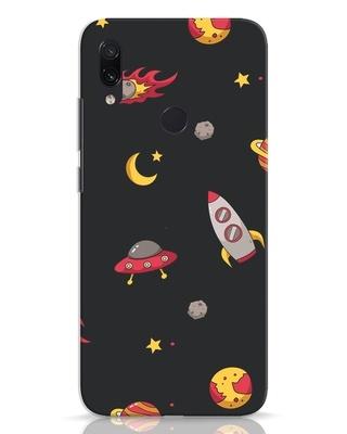 Shop Lost In The Sky Xiaomi Redmi Note 7 Mobile Cover-Front