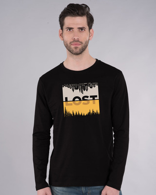 Shop Lost In Time Full Sleeve T-Shirt-Front