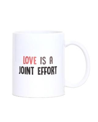Shop Love is a Joint Effort Mug - 320 ml-Front