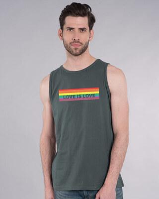 Shop Love Is Love Vest-Front
