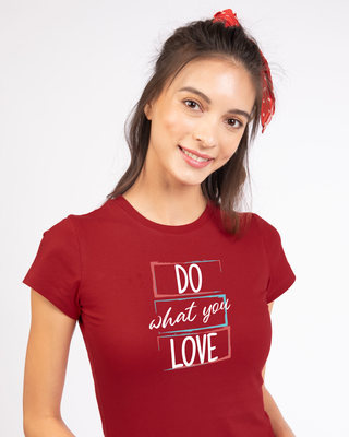 Shop Love Your Work Half Sleeve T-shirt-Front